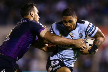 Will Chambers NRL Rd 14 - Sharks v Storm