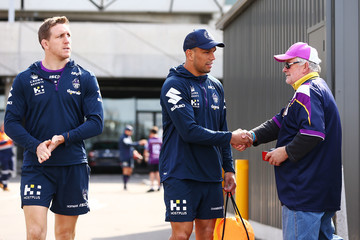 Will Chambers Melbourne Storm Training Session
