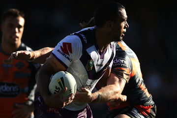 Will Chambers NRL Rd 4 - Wests Tigers v Storm