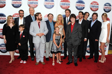 """Will Ferrell Zach Galifianakis Premiere Of Warner Bros. Pictures' """"The Campaign"""" - Red Carpet"""
