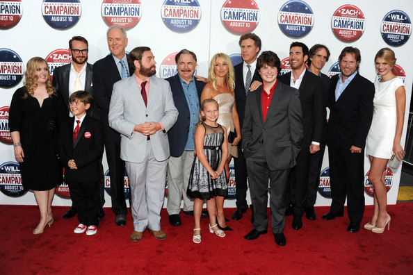 """Premiere Of Warner Bros. Pictures' """"The Campaign"""" - Red Carpet"""