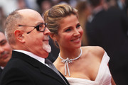 """Director Bigas Luna and Elsa Pataky attends the """"You Will Meet A Tall Dark Stranger"""" Premiere at the Palais des Festivals during the 63rd Annual Cannes Film Festival on May 15, 2010 in Cannes, France."""