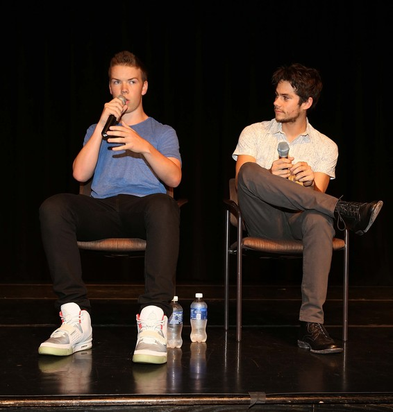Will poulter and dylan o brien photos photos the maze runner event