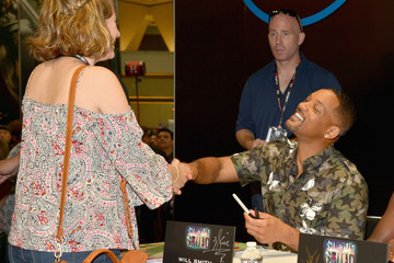 Will Smith 'Suicide Squad' Cast Signing at San Diego Comic-Con 2016
