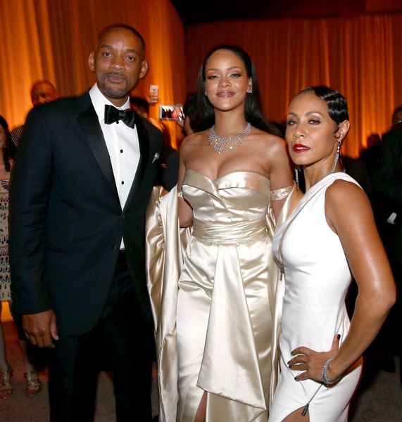 d943a489d1eb Will Smith and Jada Pinkett Smith Photos»Photostream · Pictures · Rihanna  and the Clara Lionel Foundation Host 2nd Annual Diamond Ball - Inside