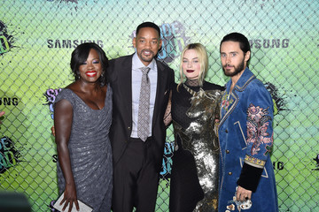 Will Smith Margot Robbie 'Suicide Squad' Premiere in New York for Carrera