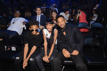 Will Smith Willow Smith Audience at the MTV Video Music Awards