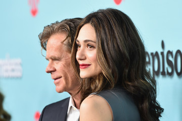 William H. Macy Emmy Rossum Showtime Celebrates New Seasons of Its Shows