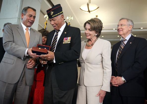 Congressional Gold Medal Award Ceremony Honors First African-American Marines
