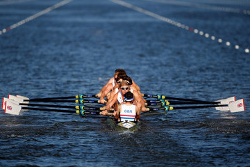 William Satch World Rowing Championships