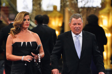 Elizabeth Shatner and William Shatner in an event