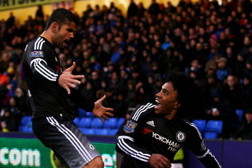 Willian Diego Costa Crystal Palace v Chelsea - Premier League