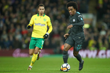 Willian Norwich City v Chelsea - The Emirates FA Cup Third Round