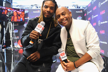 Willie Maxwell II Z100's Jingle Ball 2015 - Backstage