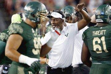 Willie Taggart   Navy v South Florida