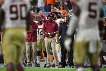 Willie Taggart   Florida State vs. Miami