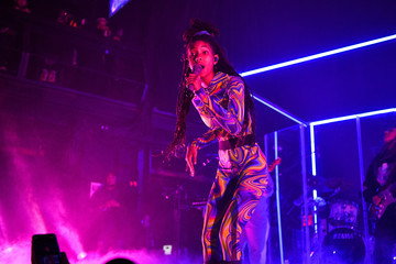 Willow Smith Jaden And Willow Smith In Concert - New York, NY