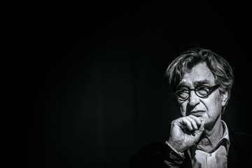 Wim Wenders Mastercard At The 69th Berlin International Film Festival