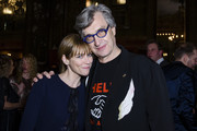 Marie Josee Croze (L) and Wim Wenders attend the Wim Wenders Party during the 65th Berlinale International Film Festival at Claerchens Ballhaus on February 11, 2015 in Berlin, Germany. The party was supported by Arri Film & TV as well as the Wim Wenders Foundation.