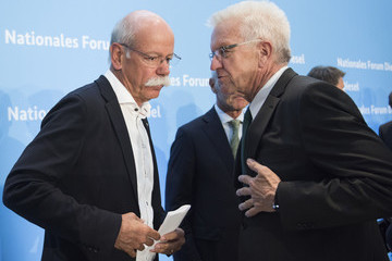 Winfried Kretschmann Government Holds Diesel Conference