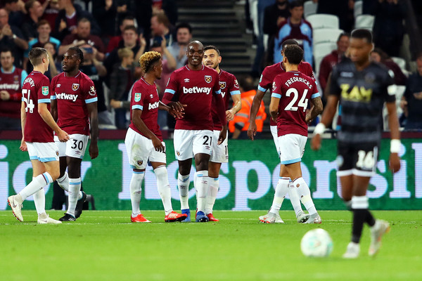 West Ham United v Macclesfield Town - Carabao Cup Third Round
