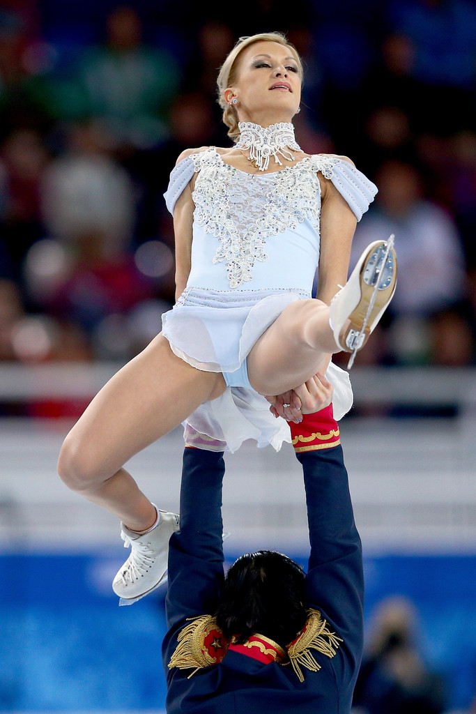 french ice dancers dating French ice dancer gabriella papadakis had wardrobe malfunction during competition.