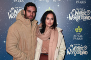 James Dunmore and Lucy Watson attend the VIP Launch of Hyde Park Winter Wonderland on November 21, 2018 in London, England.