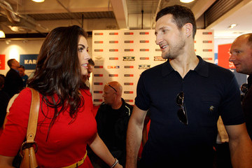 Rachel Cordingly Wladimir Klitschko v David Haye - Weigh-In