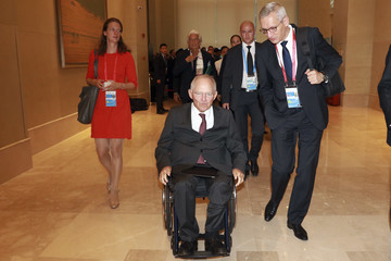 Wolfgang Schauble G20 China 2016 - Preparations