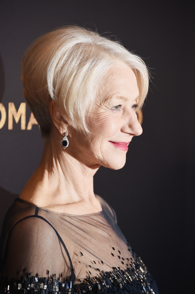 show me haircuts helen mirren photos photos in gold new york 3222