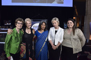 (L-R) Esther Hyneman, Swanee Hunt, Sunita Viswanath, Tina Brown and Manizha Naderi. attend the Women For Afghan Women Hosts 14th Anniversary Gala at Gustavino's on May 28, 2015 in New York City.