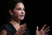 Actress and activist Ashley Judd speaks during the 29th annual Conference of the Professional Businesswomen of California (PBWC) on April 24, 2018 in San Francisco, California. The PBWC is a day of keynote speakers and seminars by top female leaders and panels of industry experts.