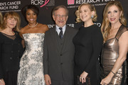 Kate Capshaw, Gabrielle Union, Steven Spielberg, Kate Hudson and Rita Wilson attend The Women's Cancer Research Fund's An Unforgettable Evening Benefit Gala at the Beverly Wilshire Four Seasons Hotel on February 28, 2019 in Beverly Hills, California.