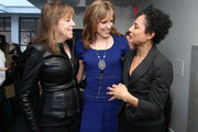(L-R)  Jane Rosenthal, Hannah Storm and Shola Lynch attend the Women's Filmmaker Brunch during the 2013 Tribeca Film Festival on April 25, 2013 in New York City.