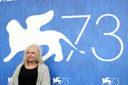Actress Yolande Moreau attends a photocall for 'A Women's Life'  during the 73rd Venice Film Festival at  on September 6, 2016 in Venice, Italy.