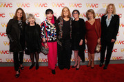 (L-R) Debra Winger, Robin Morgan, Loreen Arbus, Gloria Steinem, Bonnie Schaefer, Pat Mitchell and Julie Burtonattends The Women's Media Center 2015 Women's Media Awards on November 5, 2015 in New York City.