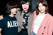 (L-R) Director Ana Lily Amirpour, musician Karen O and Tabitha Denholm attend the Women Under The Influence Screening of Kenzo's Yo My Saint with Karen O and Ana Lily Amirpour at NeueHouse Hollywood on March 1, 2018 in Los Angeles, California.