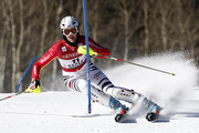 (FRANCE OUT) Susanne Riesch of Germany takes 4th place during the Audi FIS Alpine Ski World Cup Women's Slalom on November 29, 2009 in Aspen, Colorado.