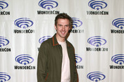 "Dan Stevens attends the ""Legion"" press line during WonderCon 2019 at Anaheim Convention Center on March 29, 2019 in Anaheim, California."