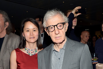 Woody Allen Hugo Boss Celebrates Their New Flagship Store