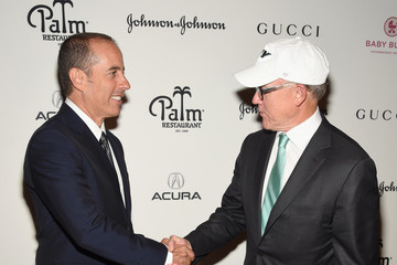 Woody Johnson Jerry Seinfeld Hosts a Lunch