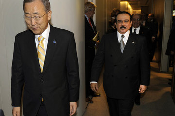 King Hamad Bin Isa Al Khalifa World Leaders Attend 66th United Nations General Assembly