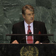 Victor Yushchenko World Leaders Attend First Day Of UN General Assembly