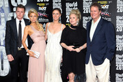 (UK TABLOID NEWSPAPERS OUT) L-R Barron Nicholas Hilton, Paris Hilton, Nicky Hilton, Kathy Hilton and Rick Hilton arrive at the World Music Awards 2010 held at the Sporting Club Monte Carlo on May 18, in Monte-Carlo, Monaco.