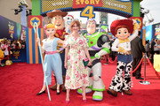 Christina Hendricks attends the world premiere of Disney and Pixar's TOY STORY 4 at the El Capitan Theatre in Hollywood, CA on Tuesday, June 11, 2019.