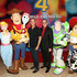 Tom Hanks (L) and Tim Allen attend the world premiere of Disney and Pixar's TOY STORY 4 at the El Capitan Theatre in Hollywood, CA on Tuesday, June 11, 2019.