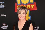Annie Potts attends the world premiere of Disney and Pixar's TOY STORY 4 at the El Capitan Theatre in Hollywood, CA on Tuesday, June 11, 2019.