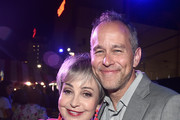 Annie Potts (L) and Producer Jonas Rivera attend the world premiere of Disney and Pixar's TOY STORY 4 at the El Capitan Theatre in Hollywood, CA on Tuesday, June 11, 2019.