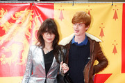 Daisy Lowe and Will Cameron attend the world premiere of 'Harry Potter and the Half Blood Prince' held at the Odeon Leicester Square on July 7, 2009 in London, England.