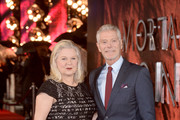 """Stephen Lang and Kristina Watson attend the World Premiere of """"Mortal Engines"""" at Cineworld Leicester Square on November 27, 2018 in London, England."""